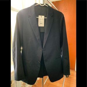 Theory men's navy blazer